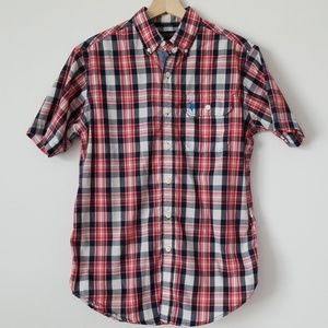USPA Plaid Short Sleeve